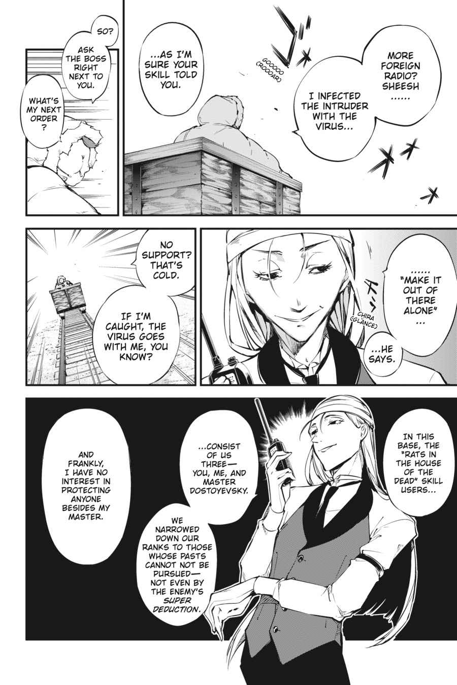 Bungou Stray Dogs Chapter 52 Page 2