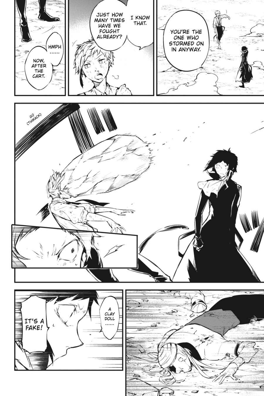 Bungou Stray Dogs Chapter 52 Page 26