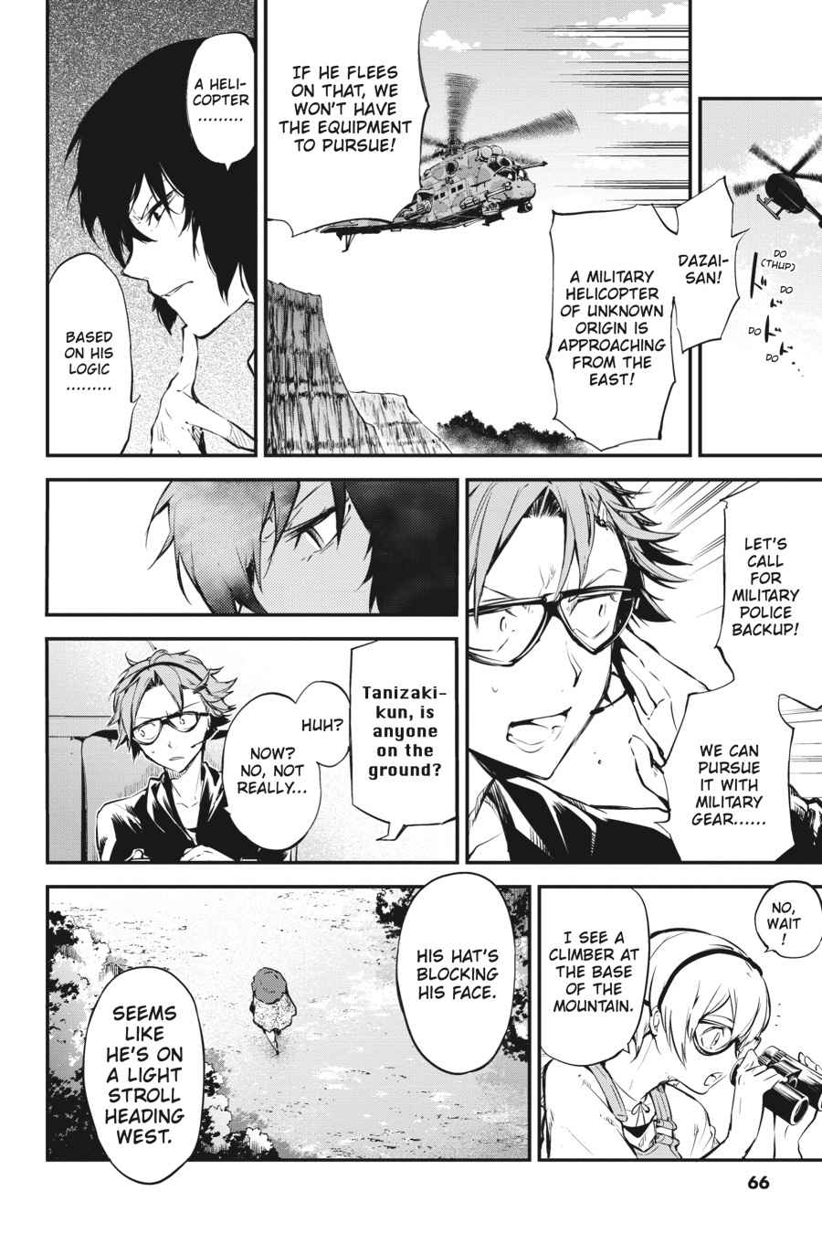 Bungou Stray Dogs Chapter 52 Page 28