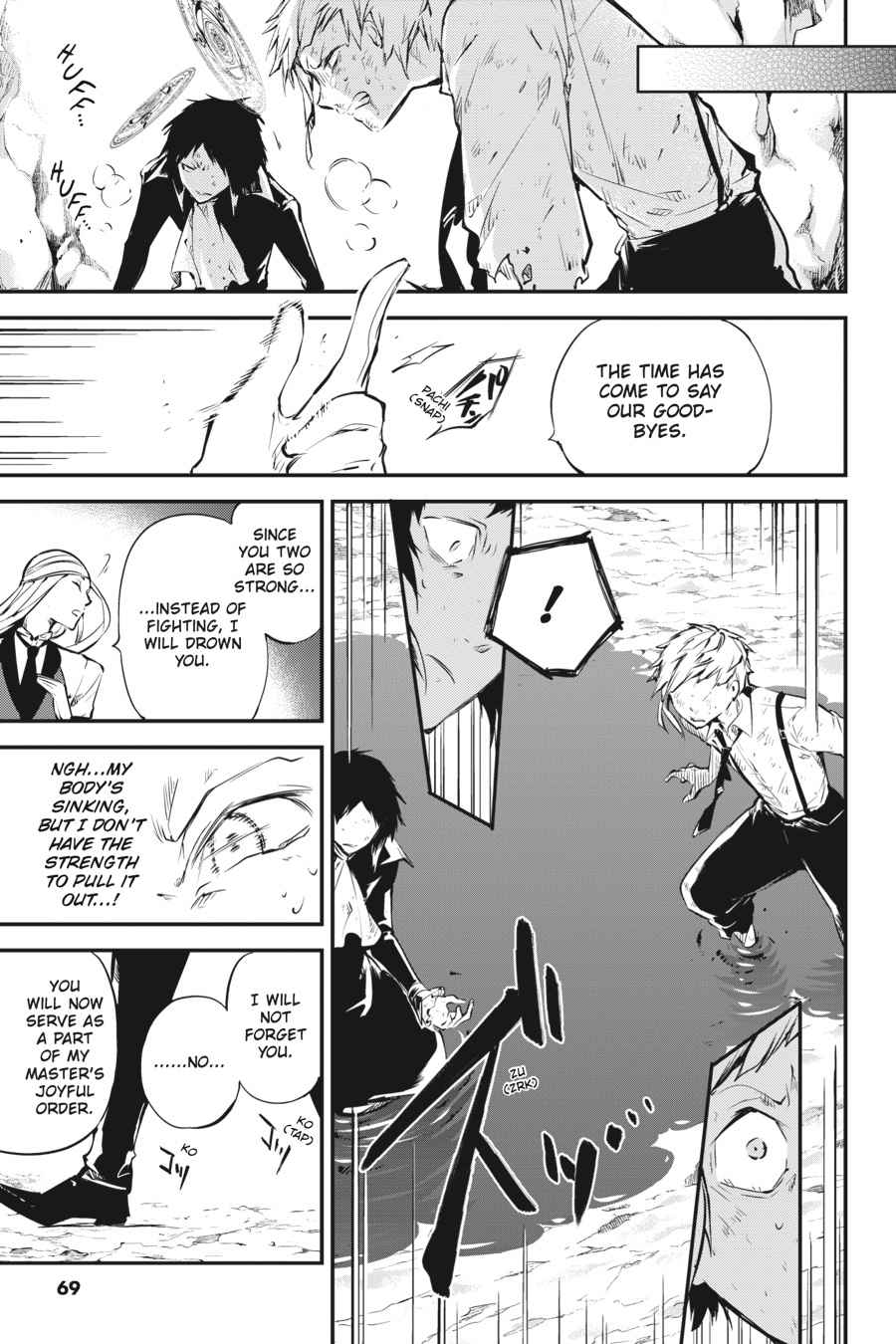 Bungou Stray Dogs Chapter 52 Page 31