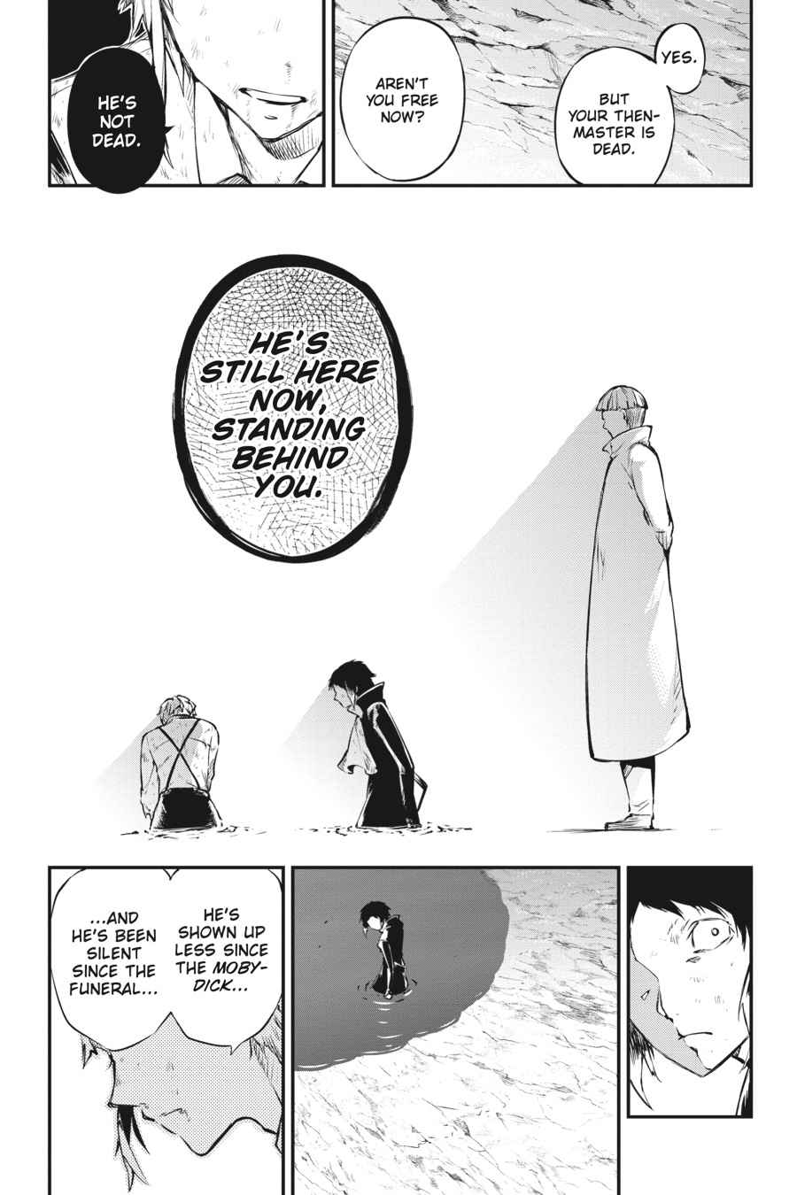 Bungou Stray Dogs Chapter 52 Page 33