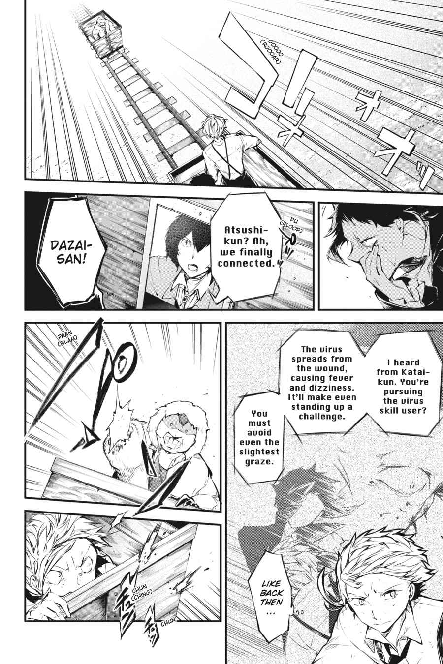 Bungou Stray Dogs Chapter 52 Page 4
