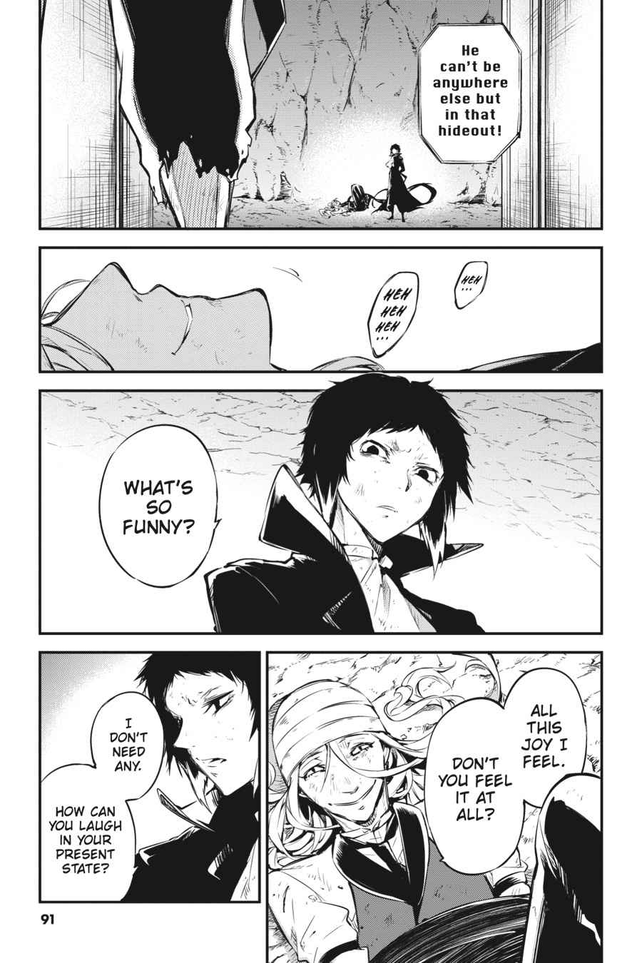Bungou Stray Dogs Chapter 53 Page 14