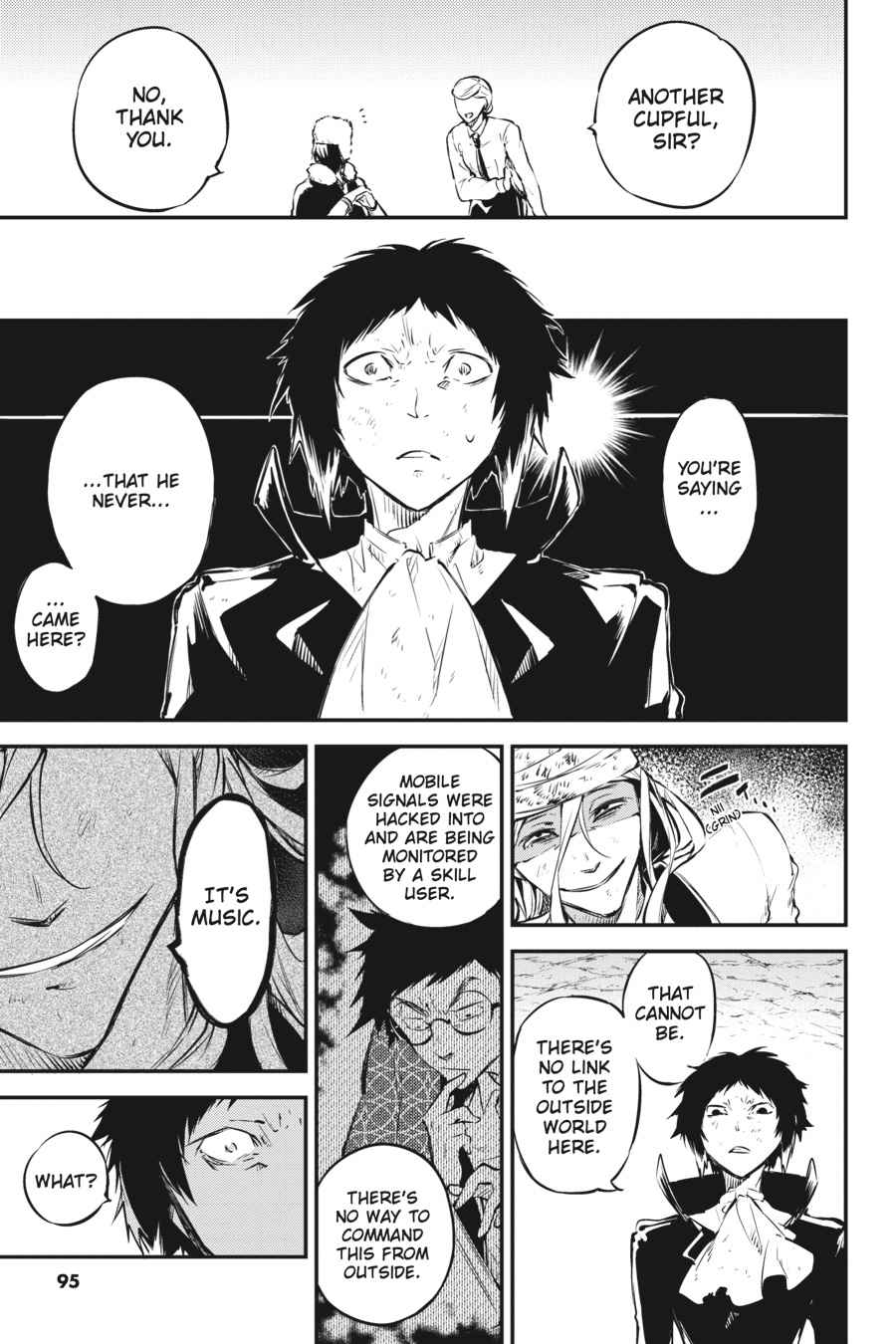 Bungou Stray Dogs Chapter 53 Page 18