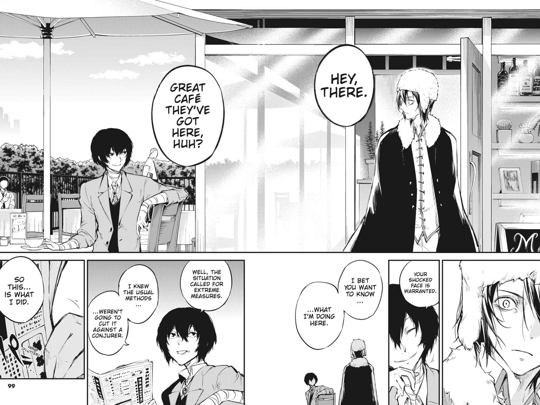 Bungou Stray Dogs Chapter 53 Page 21