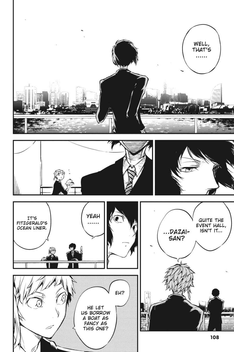 Bungou Stray Dogs Chapter 53 Page 30
