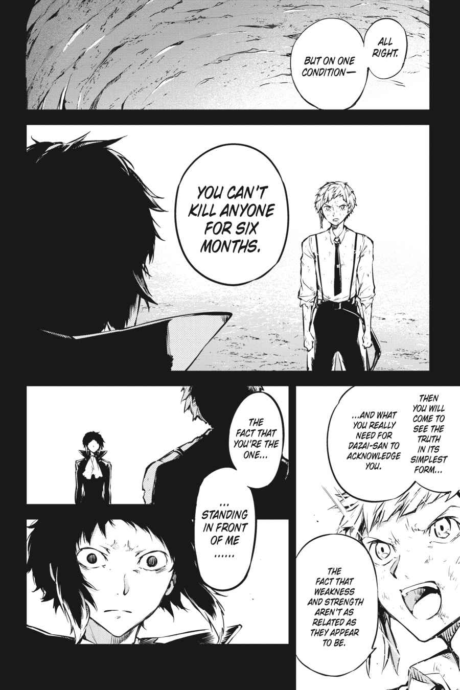 Bungou Stray Dogs Chapter 53 Page 34