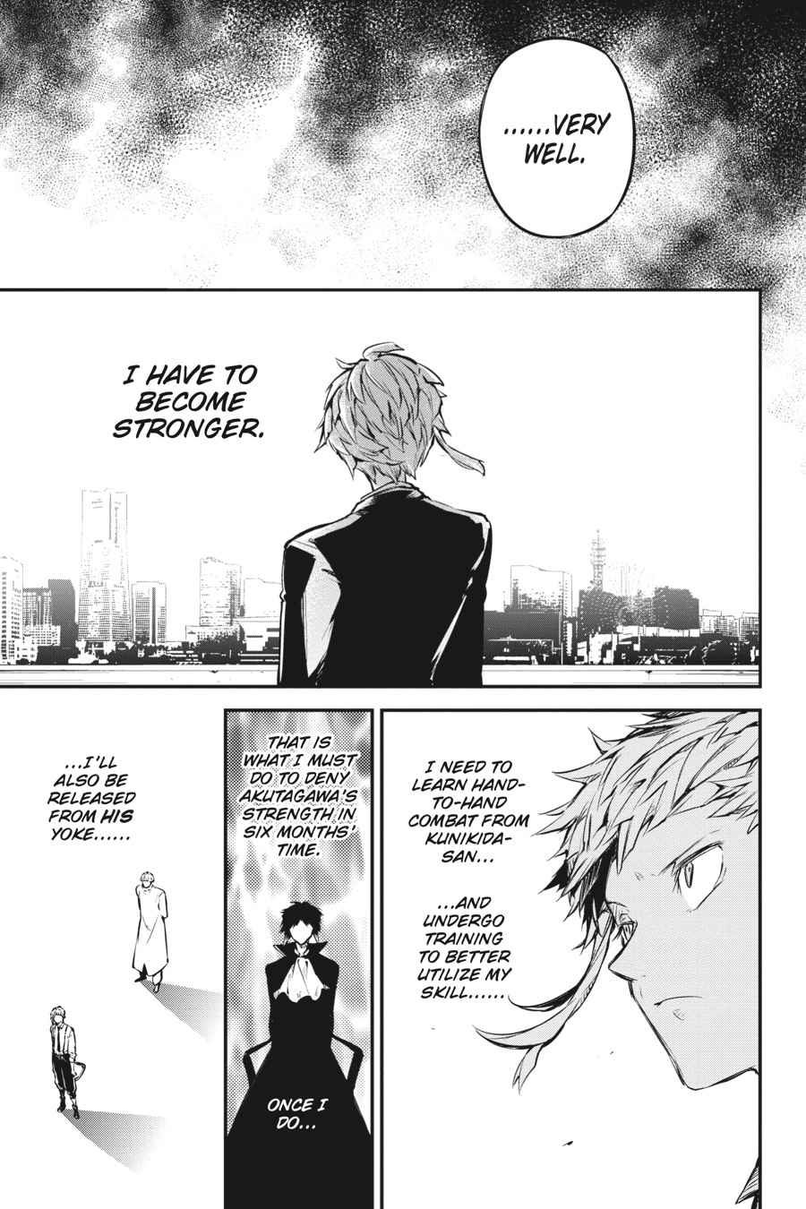 Bungou Stray Dogs Chapter 53 Page 35
