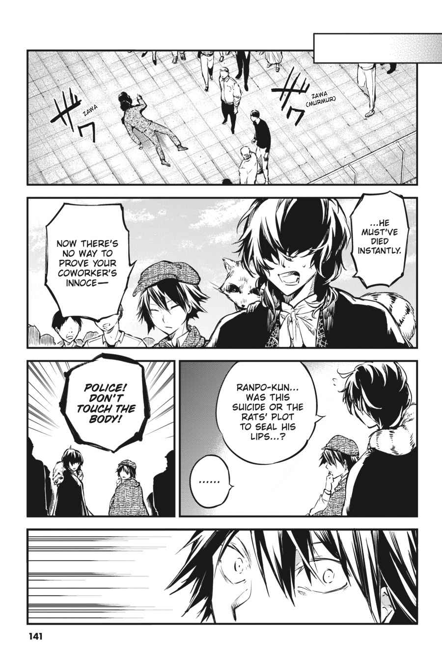 Bungou Stray Dogs Chapter 54 Page 25