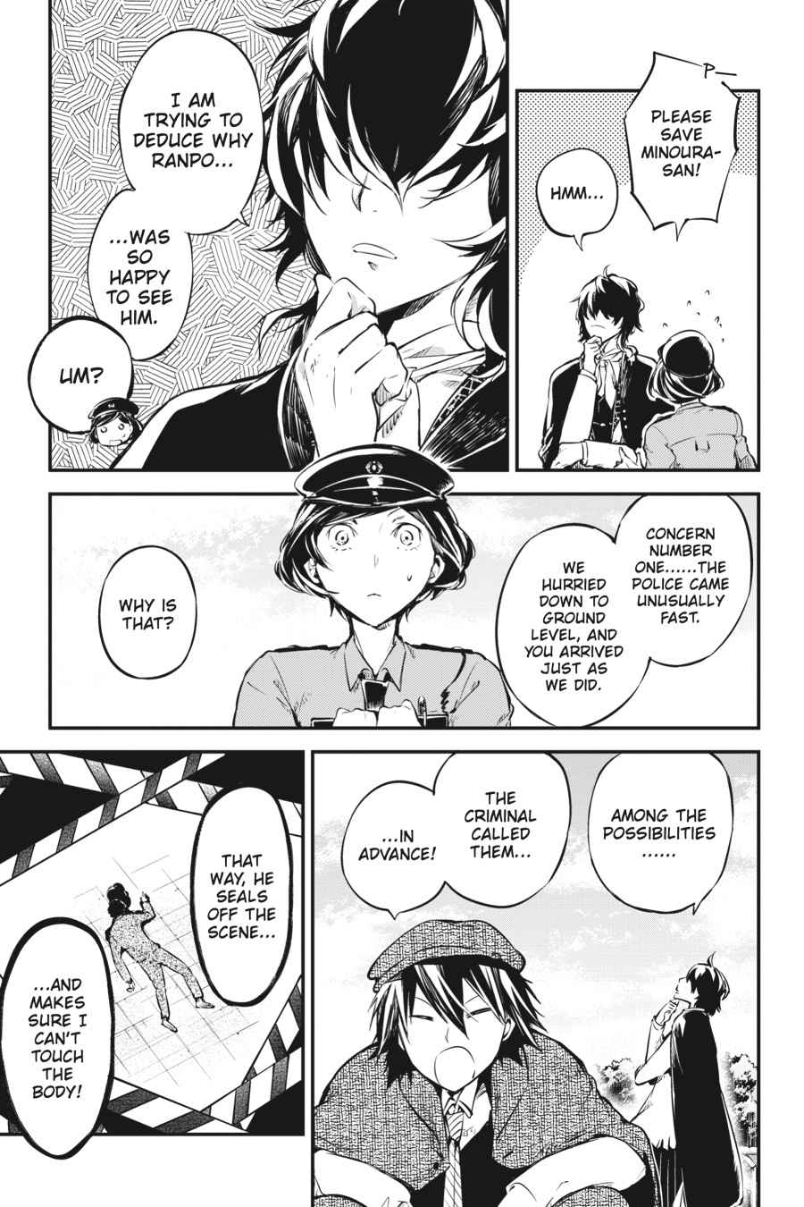 Bungou Stray Dogs Chapter 54 Page 27