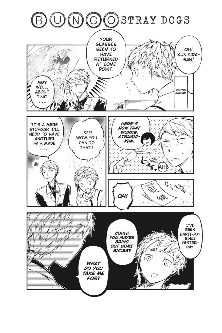 Bungou Stray Dogs Chapter 54 Page 47
