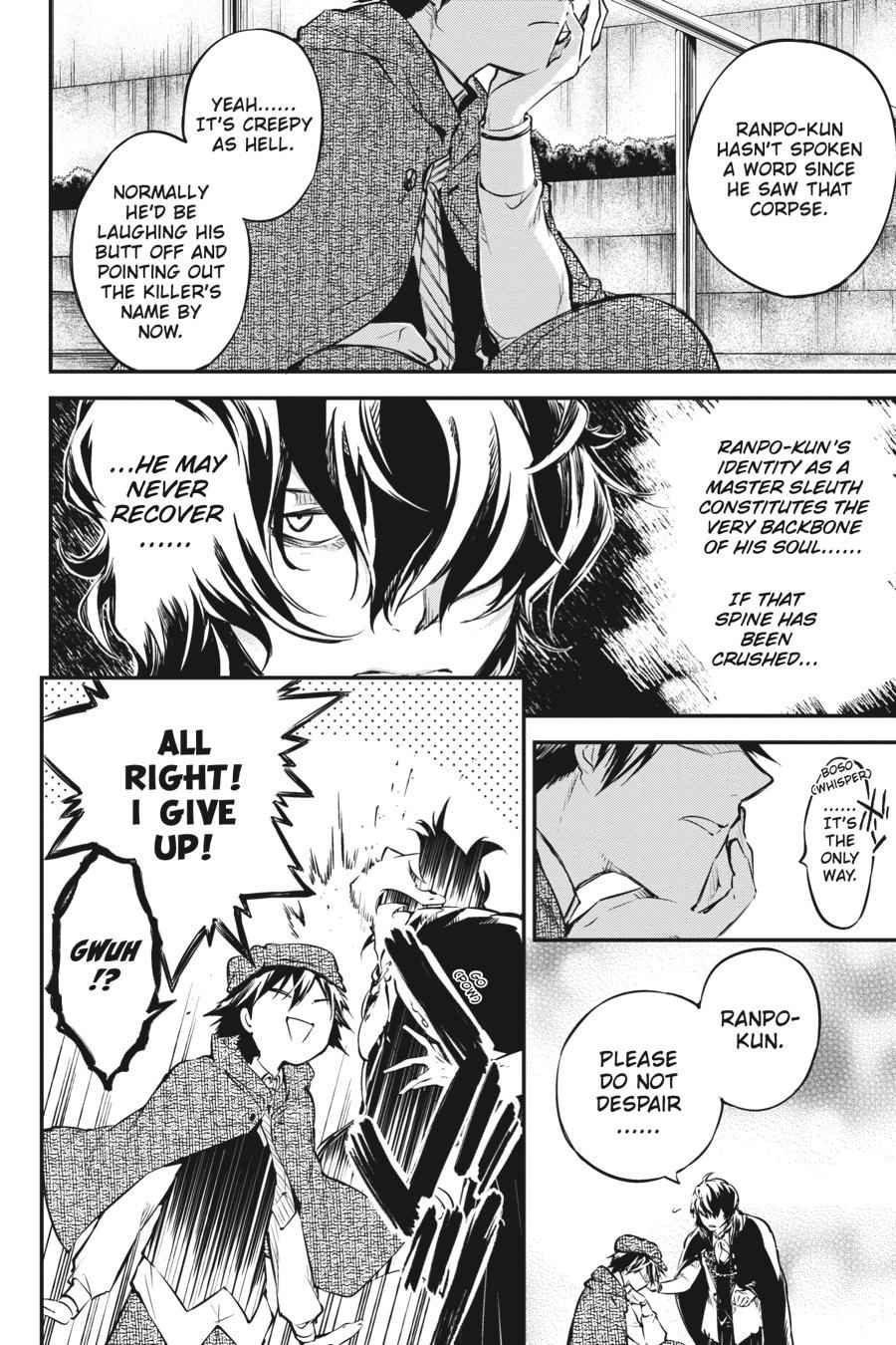 Bungou Stray Dogs Chapter 55 Page 12