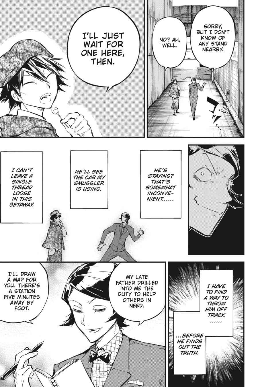 Bungou Stray Dogs Chapter 55 Page 19