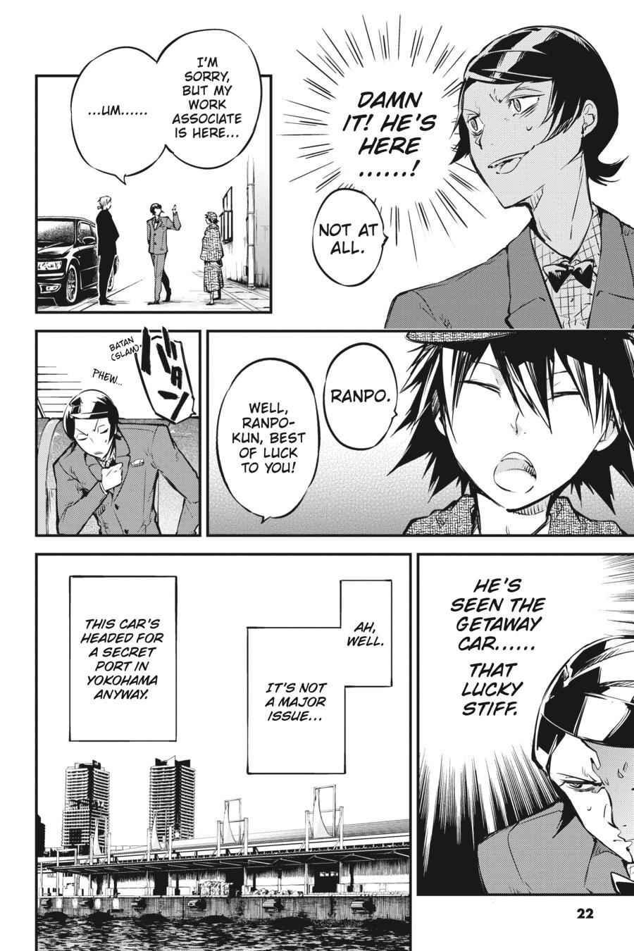 Bungou Stray Dogs Chapter 55 Page 22
