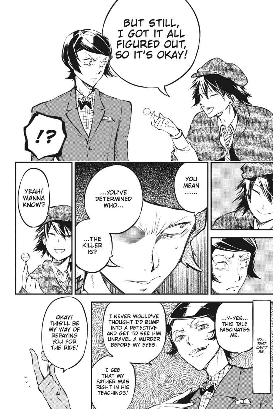 Bungou Stray Dogs Chapter 55 Page 28