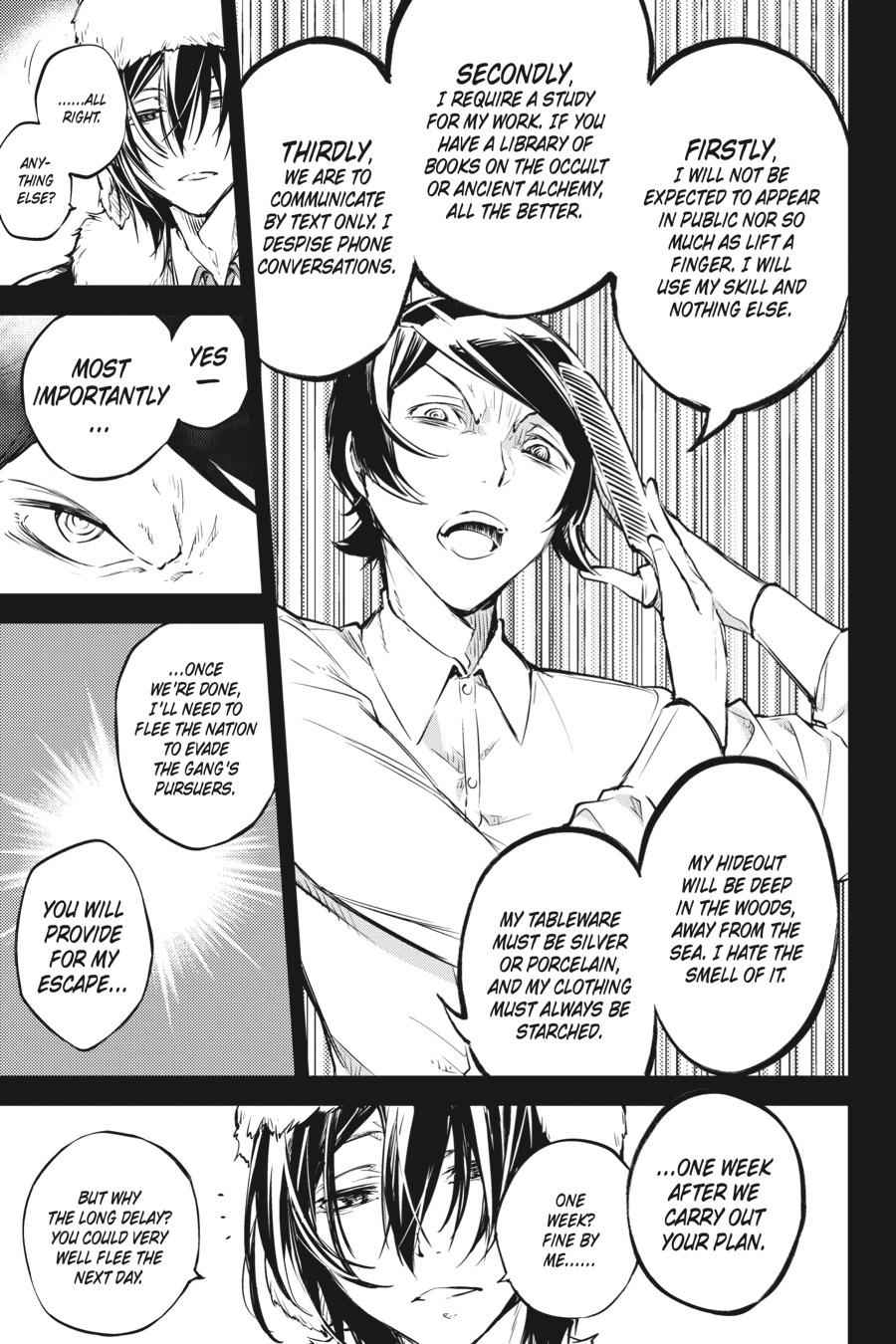 Bungou Stray Dogs Chapter 55 Page 9