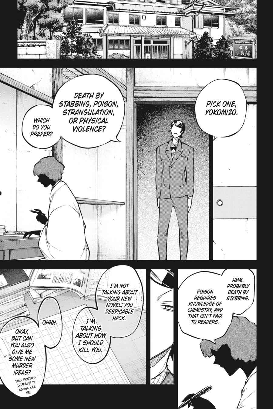 Bungou Stray Dogs Chapter 56 Page 22