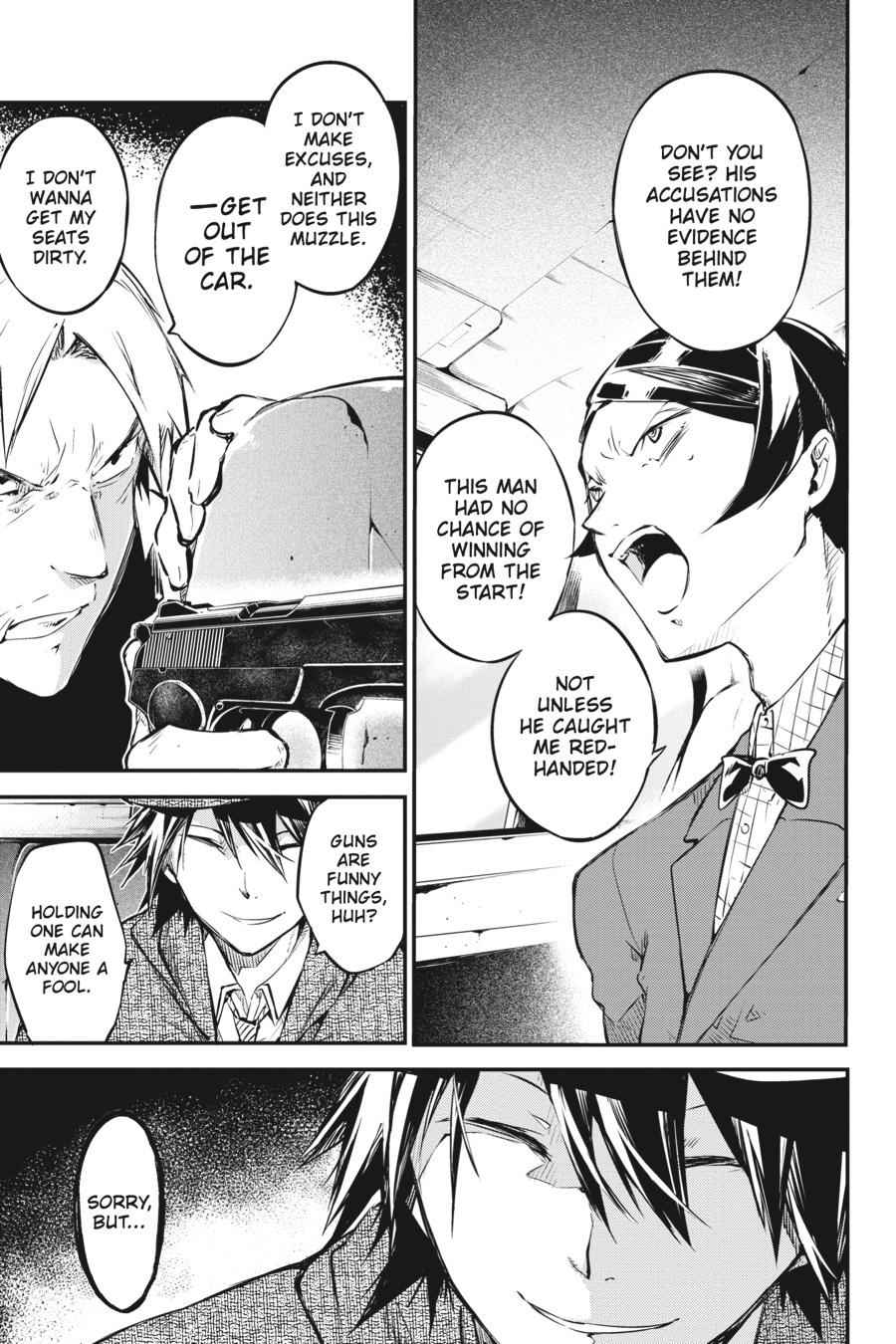 Bungou Stray Dogs Chapter 56 Page 3