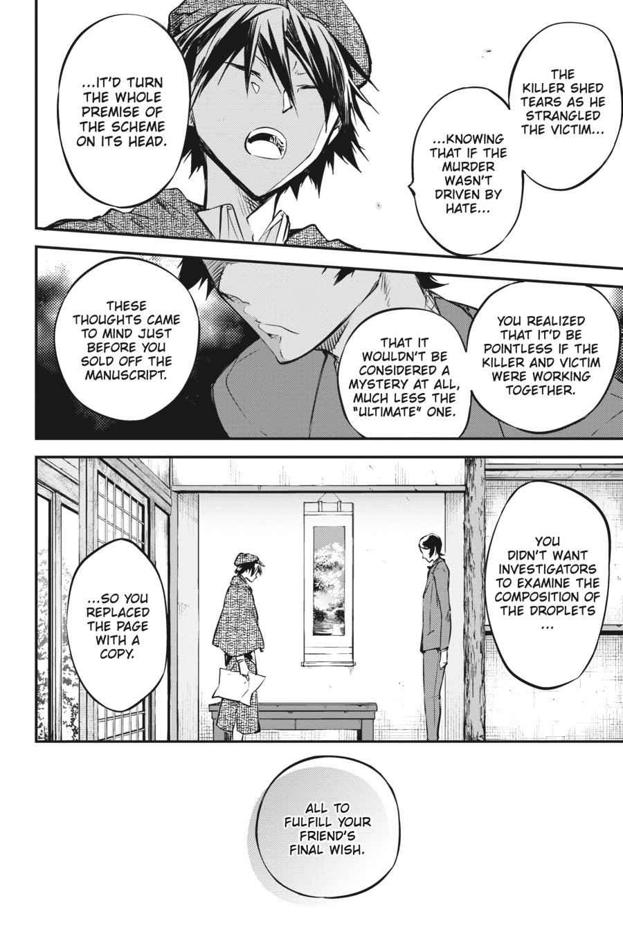 Bungou Stray Dogs Chapter 56 Page 37