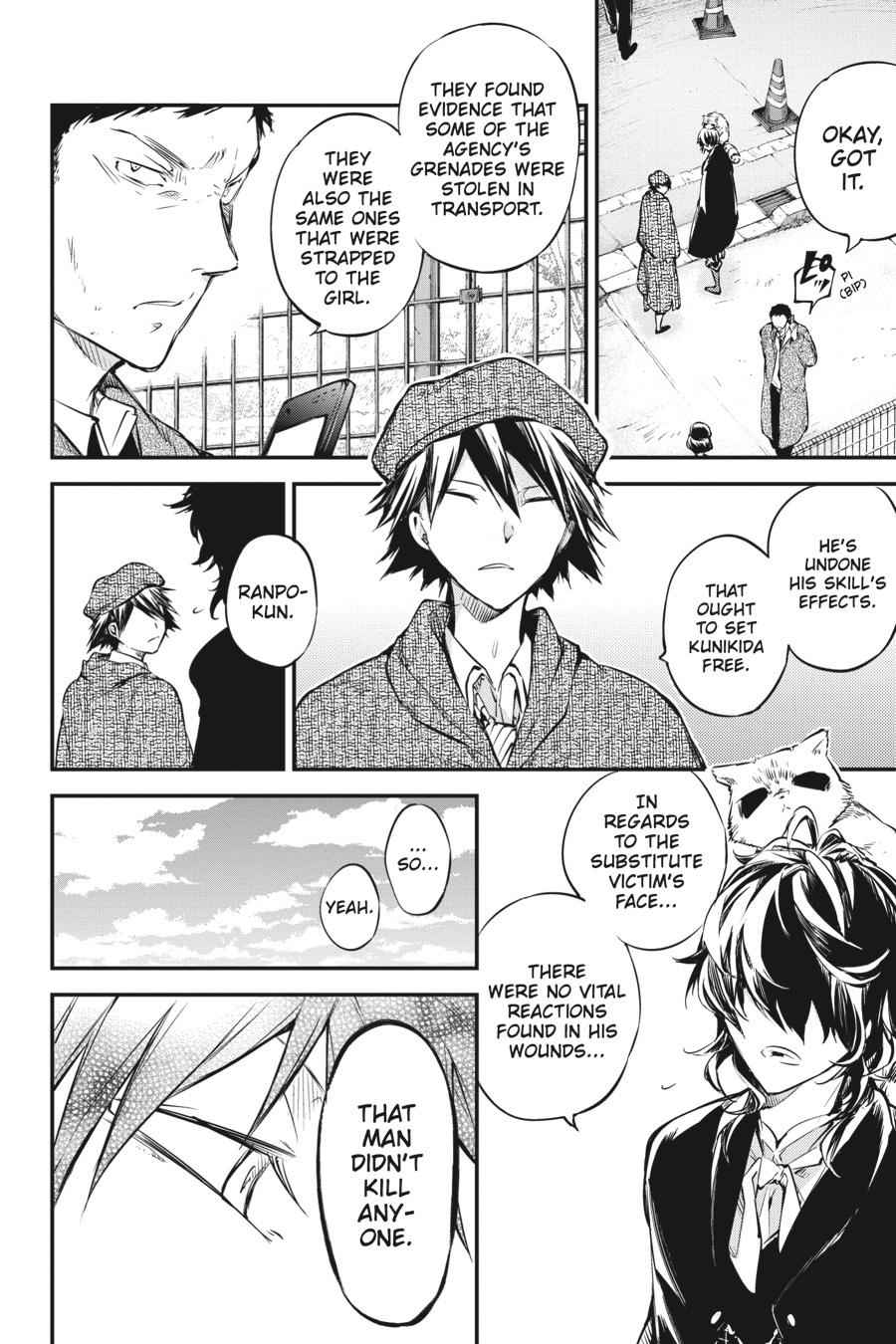 Bungou Stray Dogs Chapter 56 Page 42