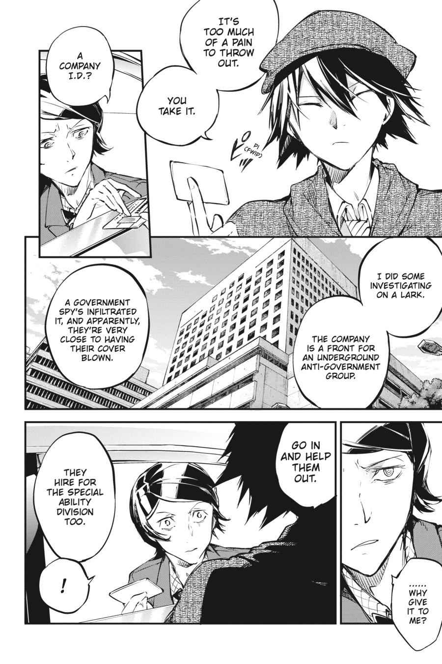 Bungou Stray Dogs Chapter 56 Page 44