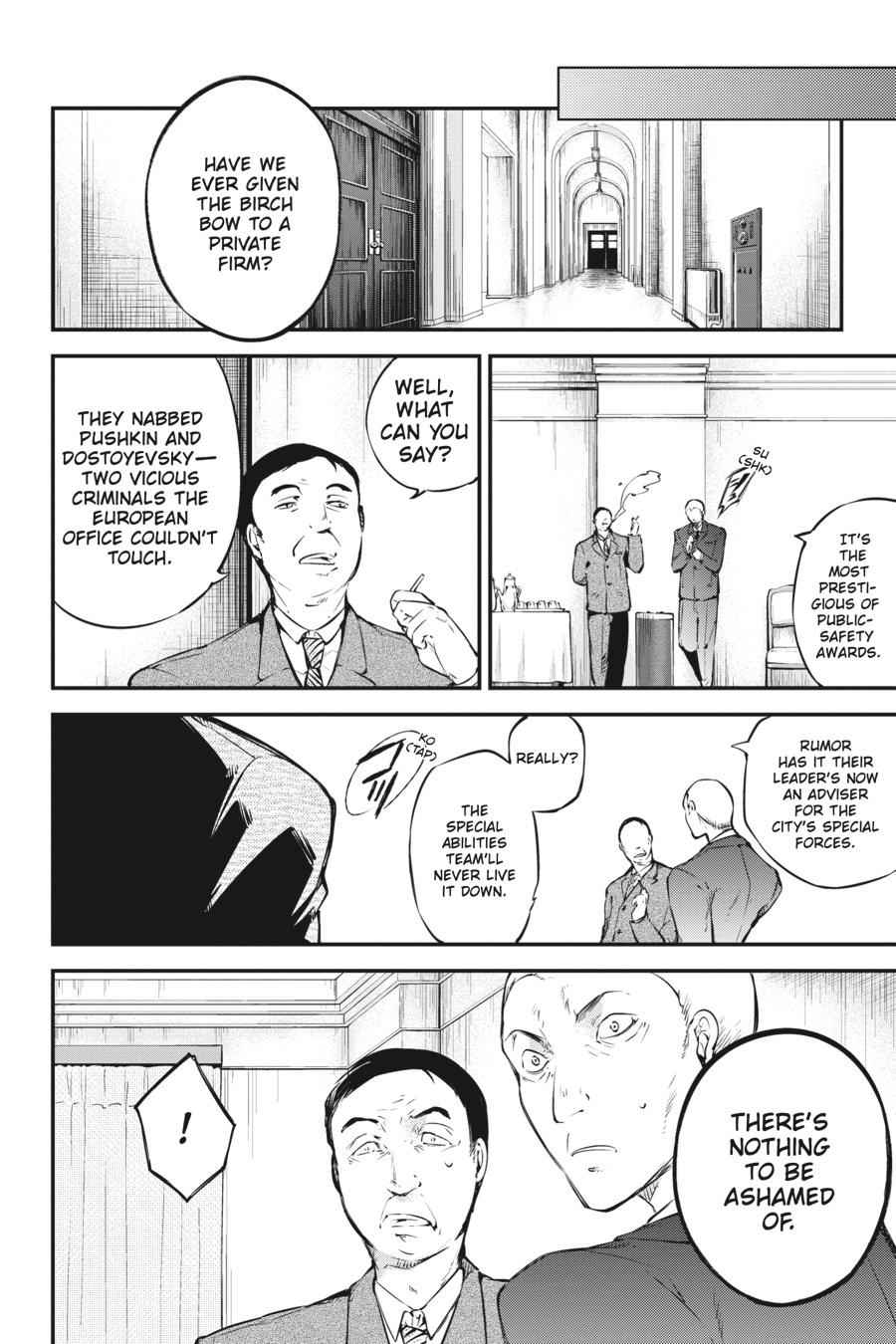 Bungou Stray Dogs Chapter 57 Page 10