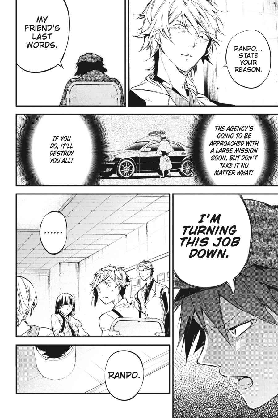 Bungou Stray Dogs Chapter 57 Page 20