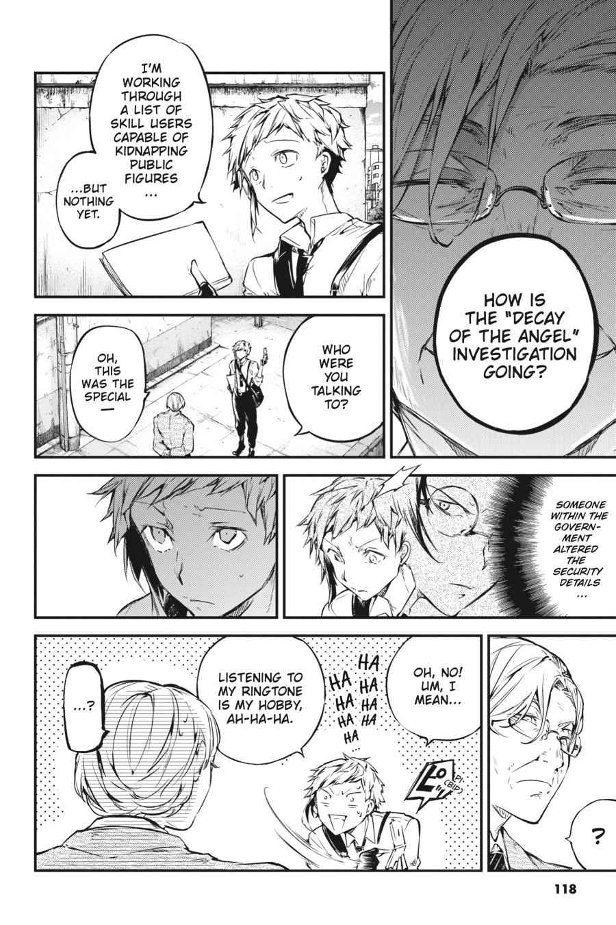 Bungou Stray Dogs Chapter 57 Page 26