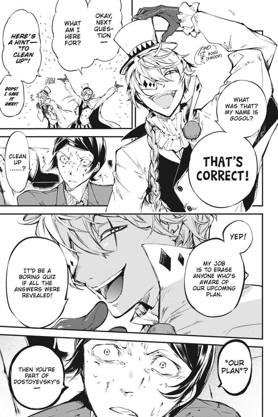 Bungou Stray Dogs Chapter 57 Page 3