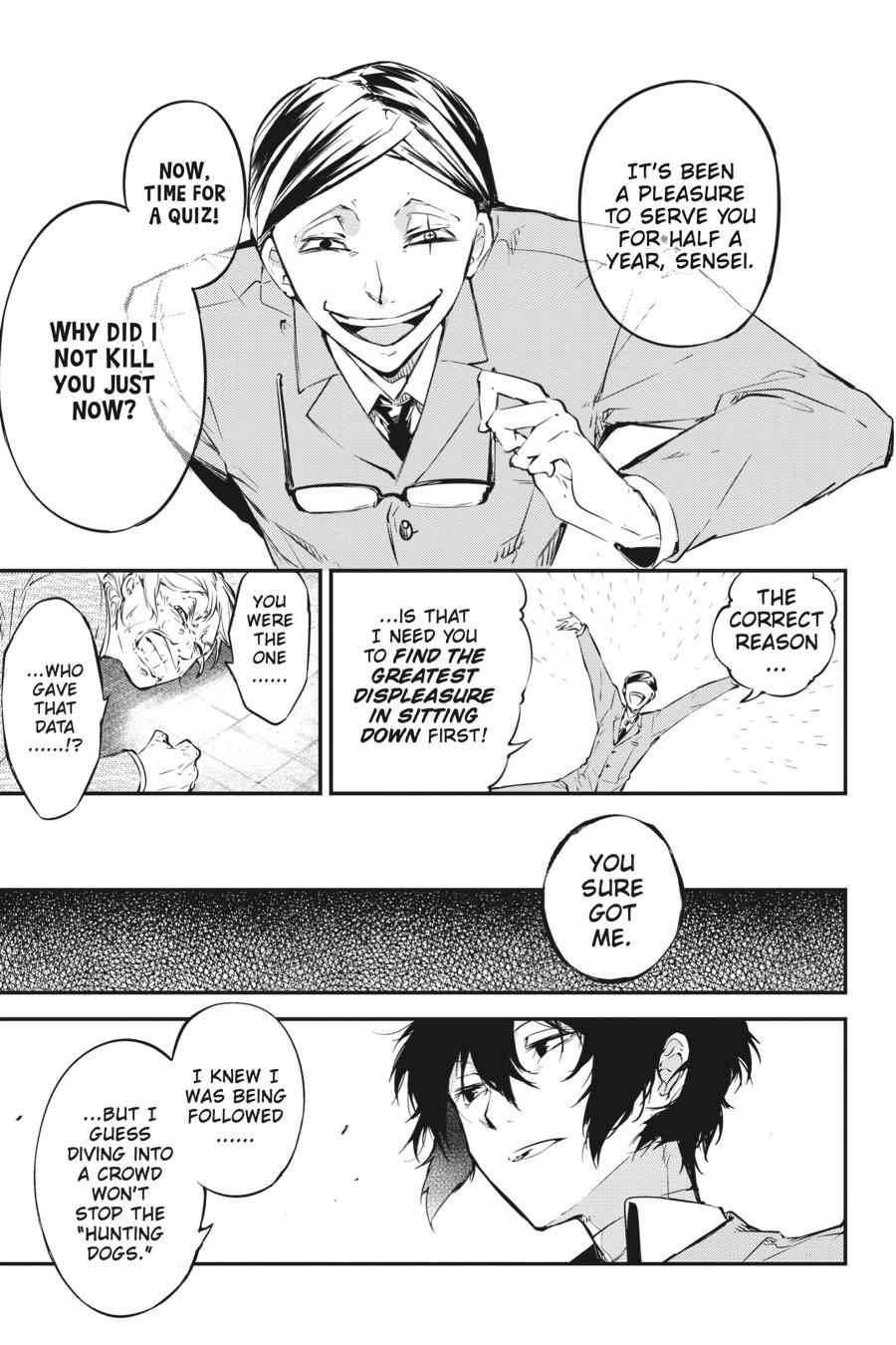 Bungou Stray Dogs Chapter 57 Page 35