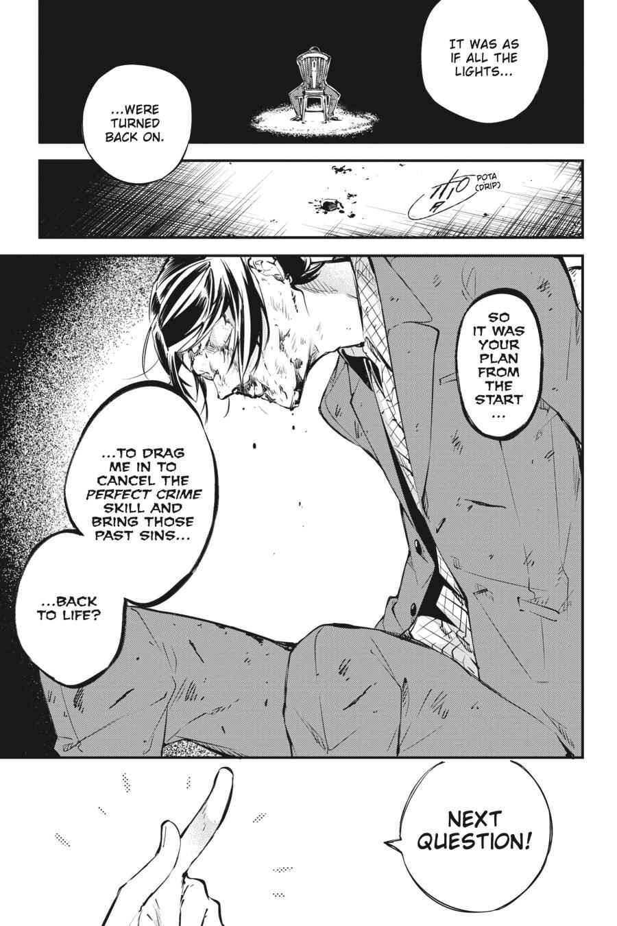 Bungou Stray Dogs Chapter 57 Page 37