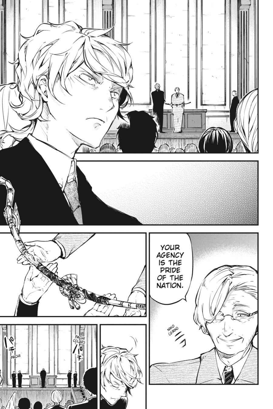 Bungou Stray Dogs Chapter 57 Page 9