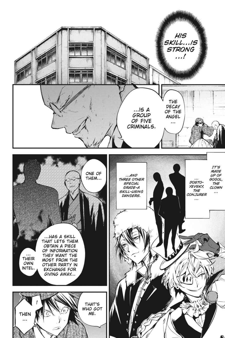 Bungou Stray Dogs Chapter 58 Page 13