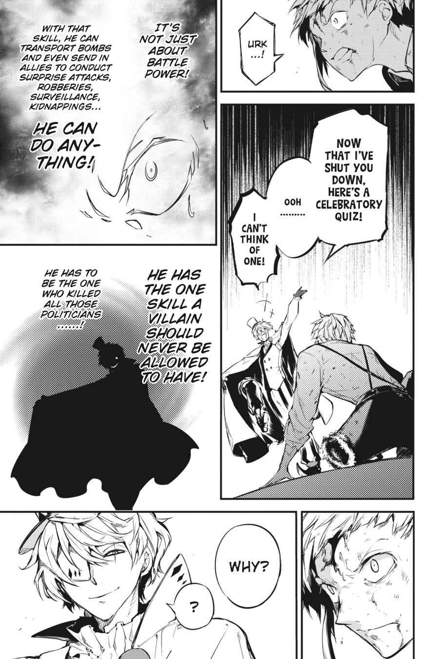 Bungou Stray Dogs Chapter 58 Page 16