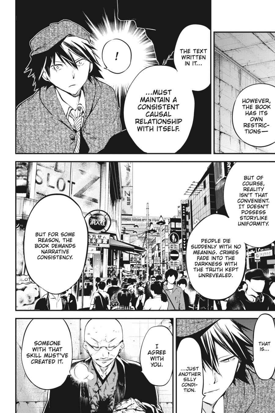 Bungou Stray Dogs Chapter 58 Page 21