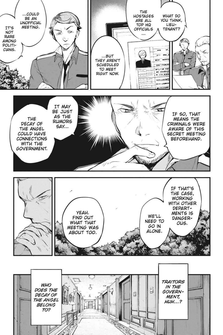 Bungou Stray Dogs Chapter 58 Page 32