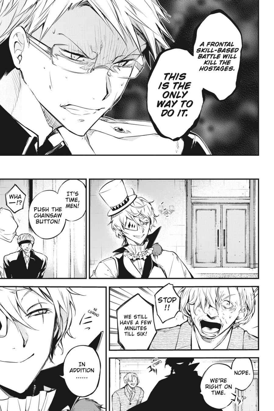 Bungou Stray Dogs Chapter 58 Page 34