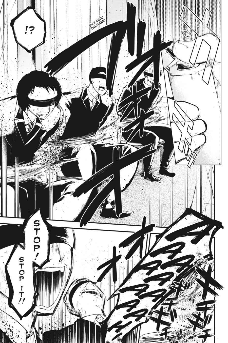 Bungou Stray Dogs Chapter 58 Page 36