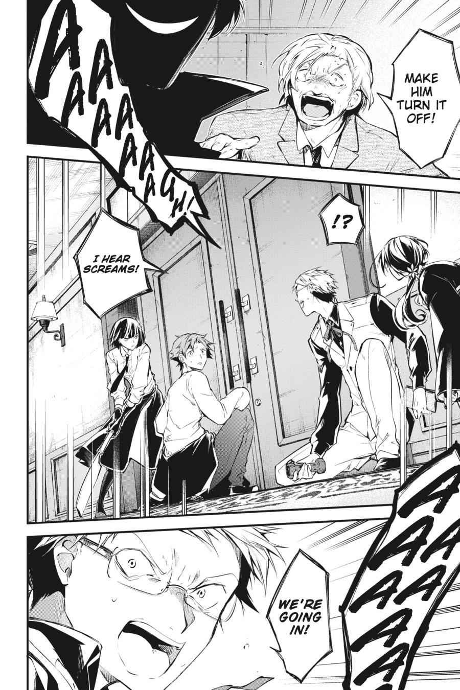 Bungou Stray Dogs Chapter 58 Page 37