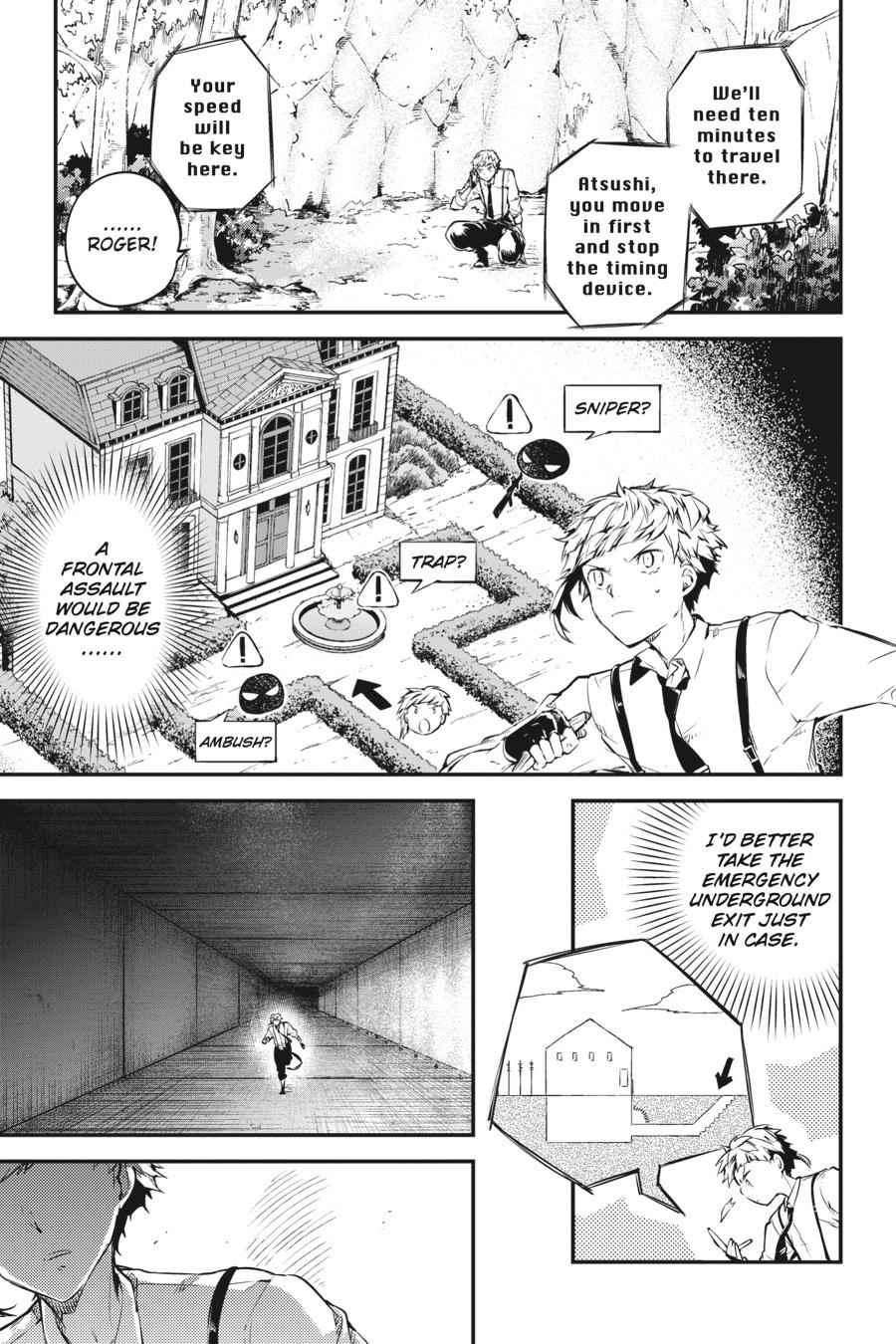 Bungou Stray Dogs Chapter 58 Page 7