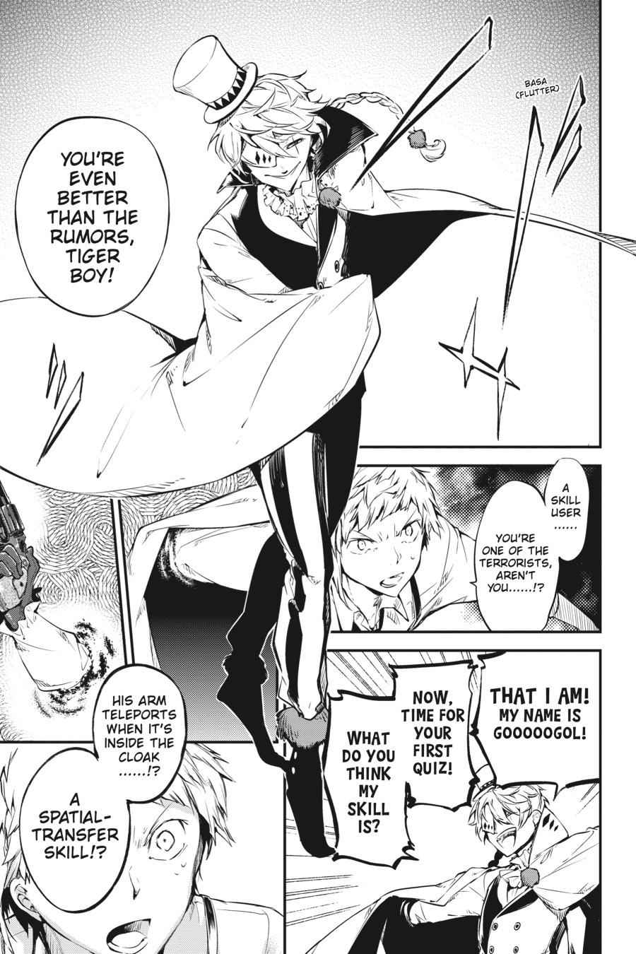 Bungou Stray Dogs Chapter 58 Page 9