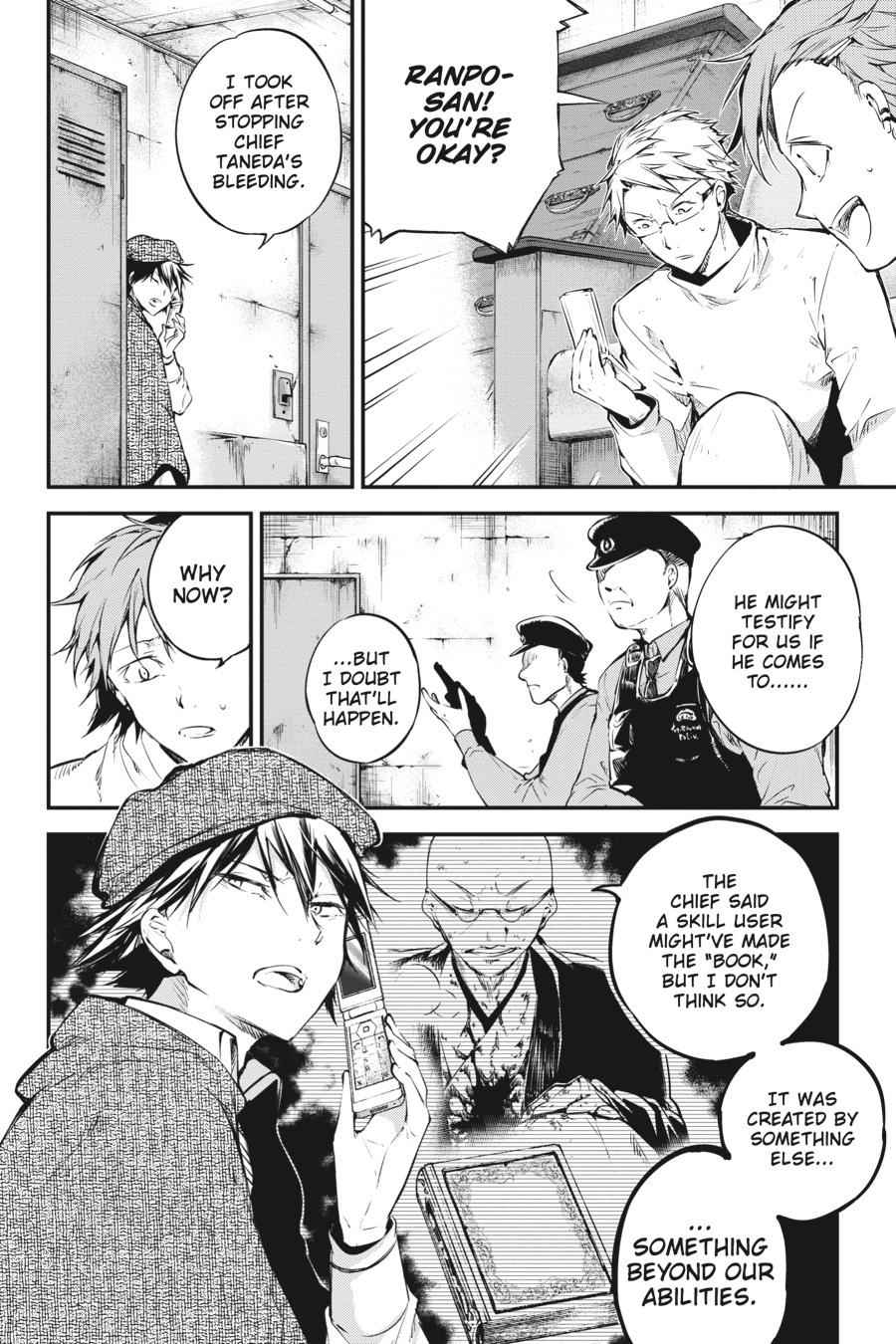 Bungou Stray Dogs Chapter 59 Page 12