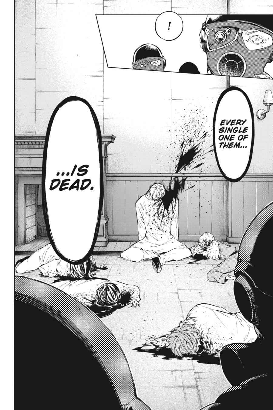 Bungou Stray Dogs Chapter 59 Page 18