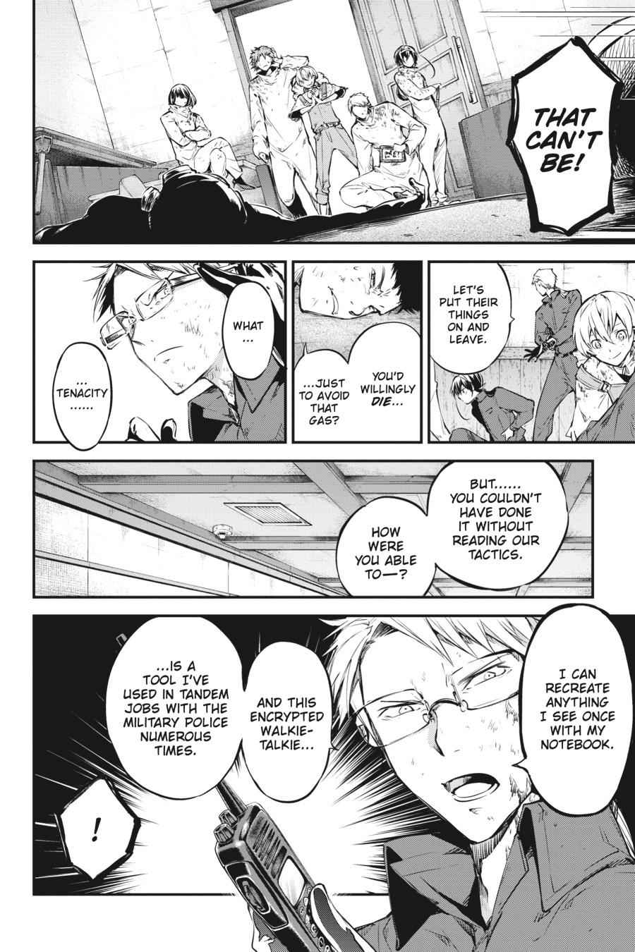 Bungou Stray Dogs Chapter 59 Page 23
