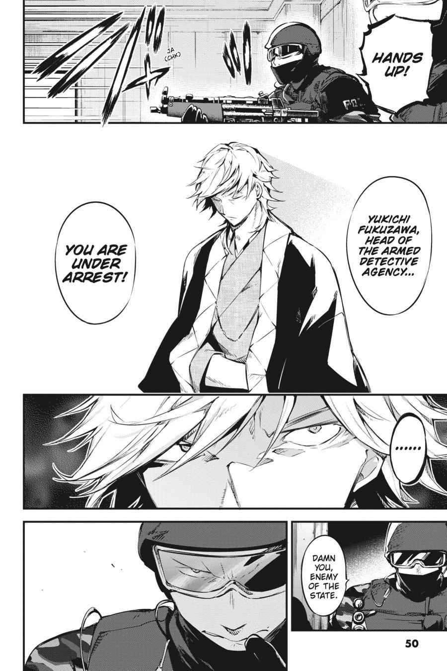 Bungou Stray Dogs Chapter 60 Page 18