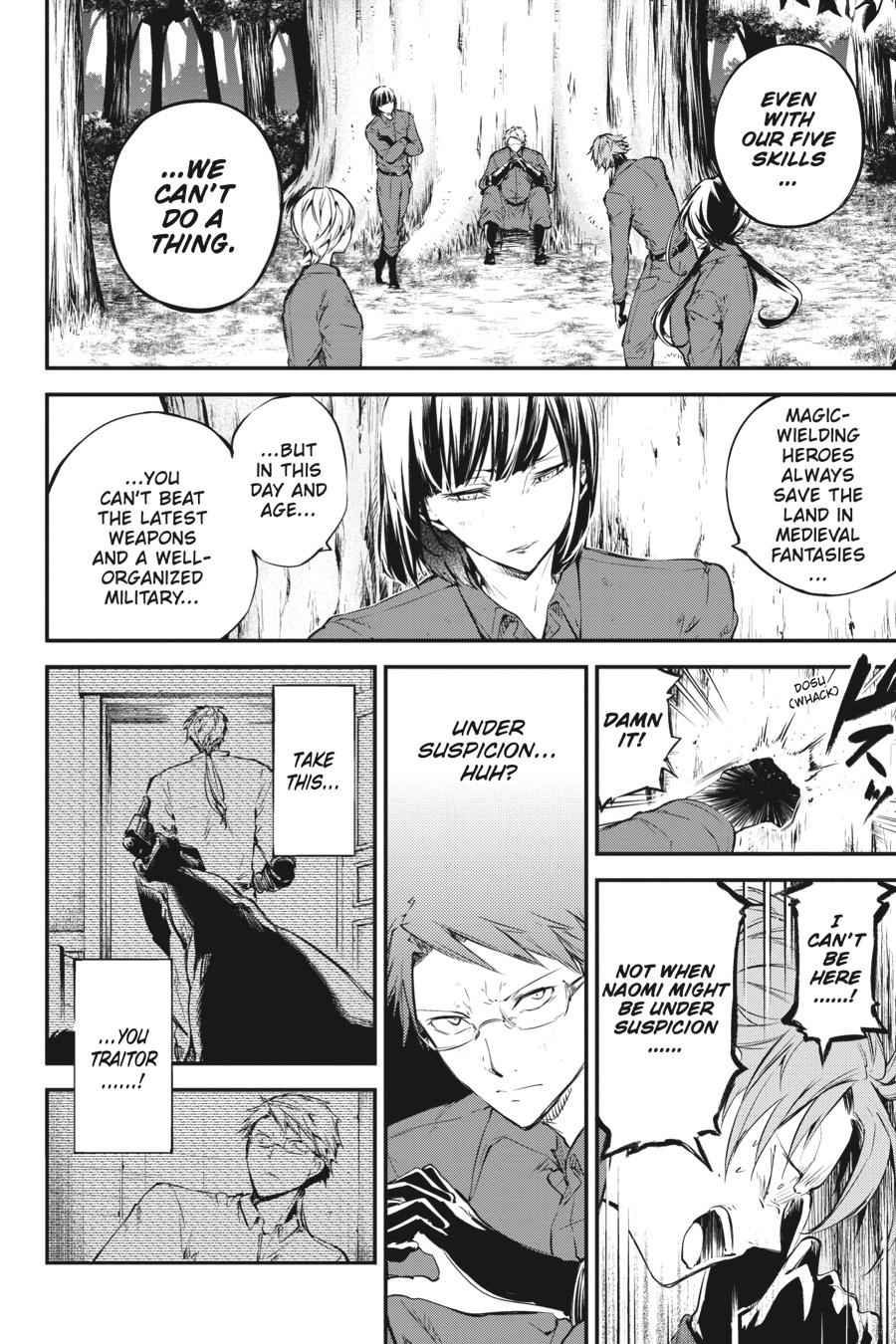 Bungou Stray Dogs Chapter 60 Page 20