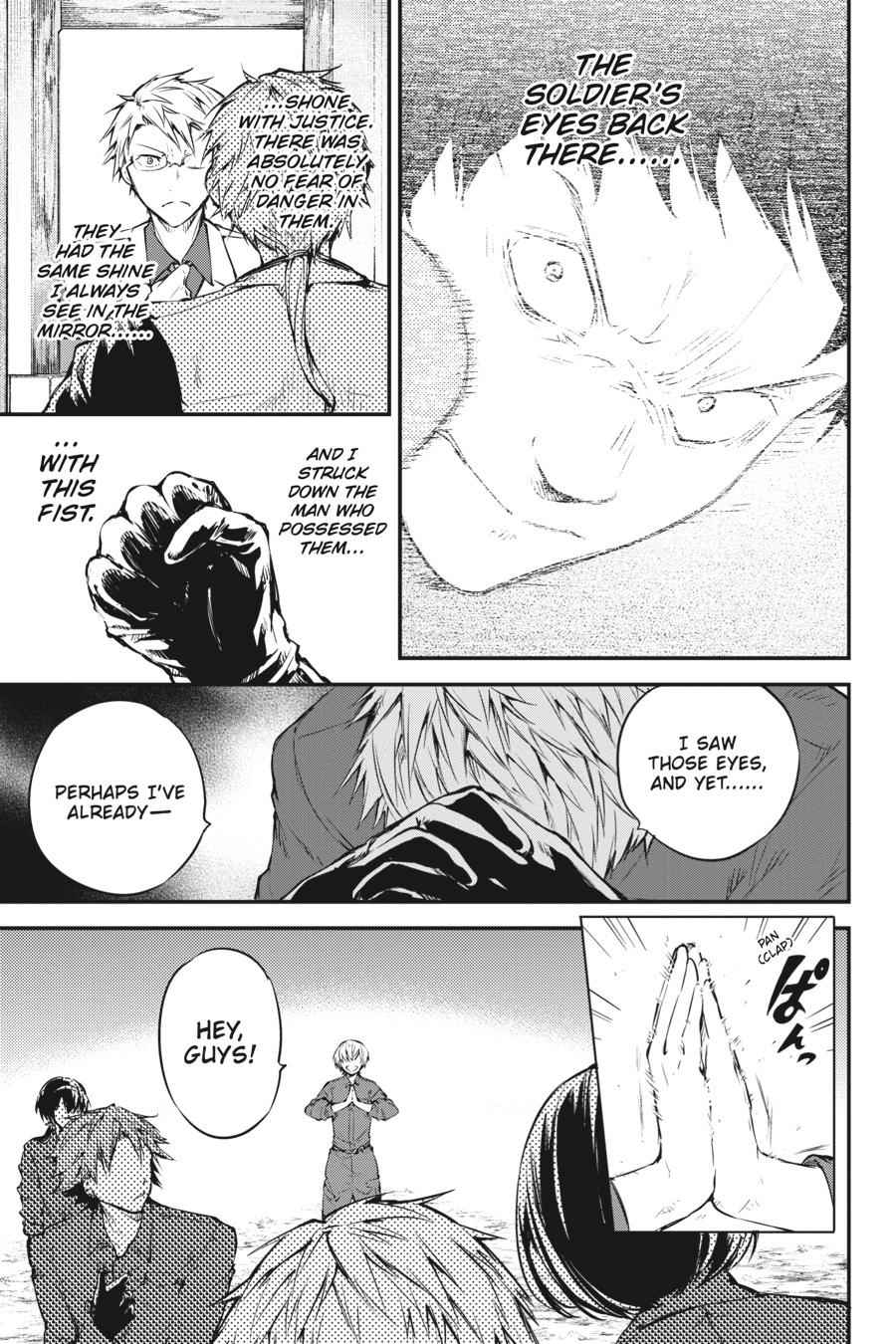 Bungou Stray Dogs Chapter 60 Page 21