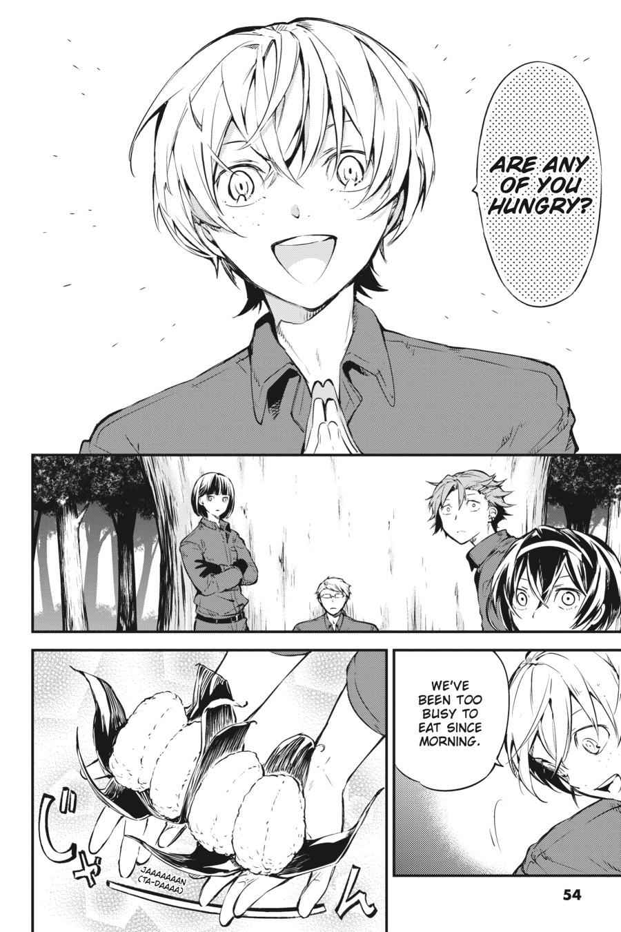 Bungou Stray Dogs Chapter 60 Page 22