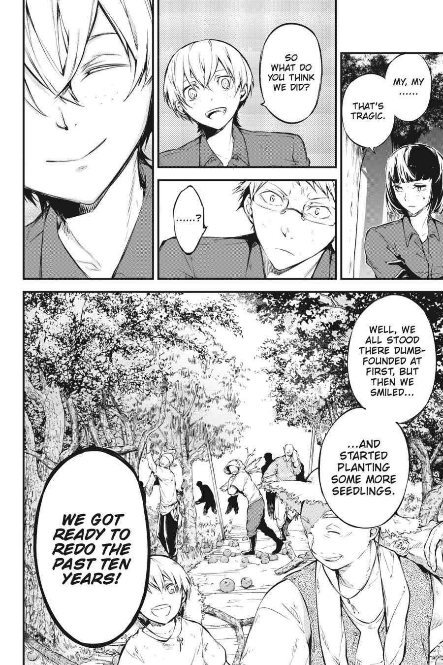 Bungou Stray Dogs Chapter 60 Page 24