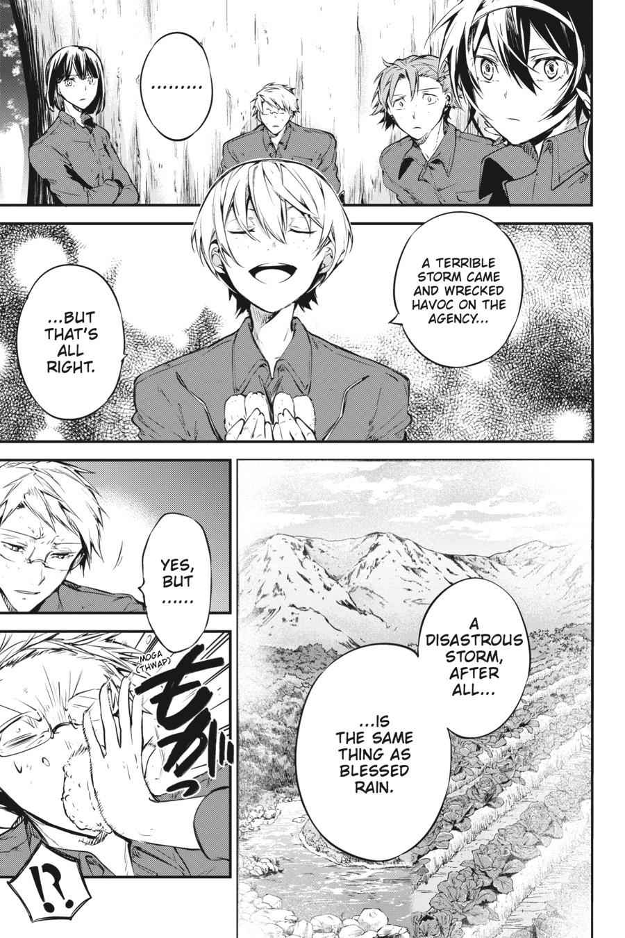 Bungou Stray Dogs Chapter 60 Page 25